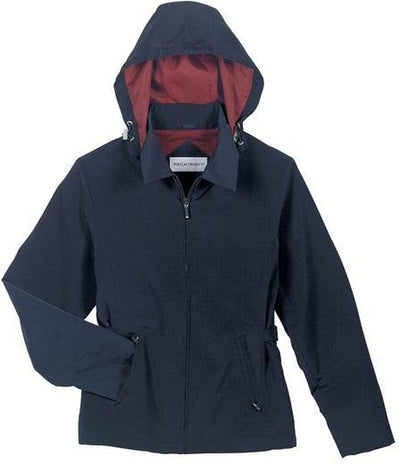 Port Authority-Ladies Legacy Jacket-XS-Dark Navy/Red-Thread Logic
