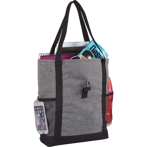 "Elevate-Buckle 11"" Tablet Tote-Graphite-Thread Logic"