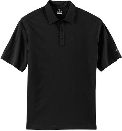 Black NIKE Golf Tech Sport Dri-Fit Polo