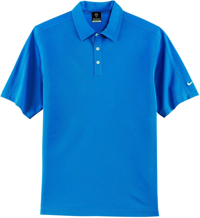 Pacific Blue NIKE Golf Tech Sport Dri-Fit Polo