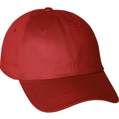 Elevate-APEX CHINO TWILL BALLCAP-Team Red-Thread Logic
