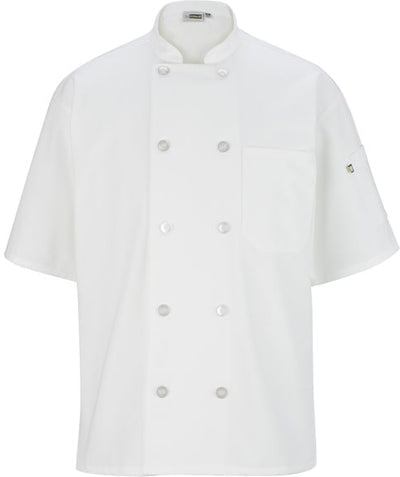 Edwards 10 Button Short Sleeve Chef Coat