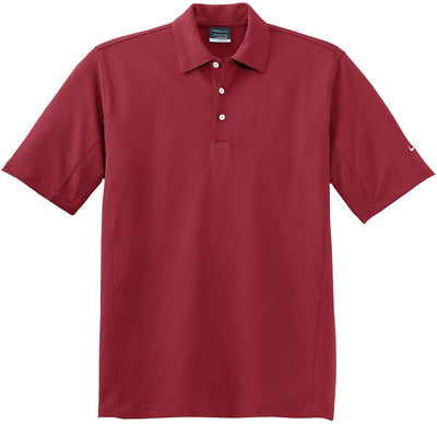 NIKE Golf Sphere Dry Diamond Polo-S-Varsity Red-Thread Logic