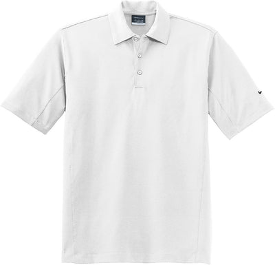 NIKE Golf Sphere Dry Diamond Polo-S-White-Thread Logic