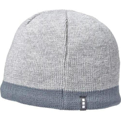 Elevate-COGENT KNIT BEANIE-Silver Heather/Steel Grey-Thread Logic