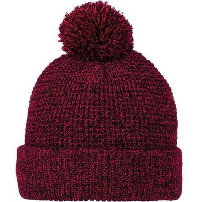 Elevate-VAULT Knit Toque-Team Red Heather-Thread Logic