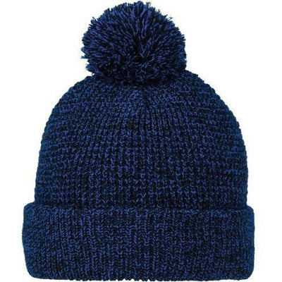 Elevate-VAULT Knit Toque-Metro Blue Heather-Thread Logic