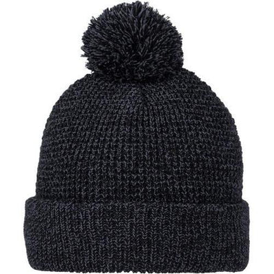 Elevate-VAULT Knit Toque-Heather Dark Charcoal-Thread Logic