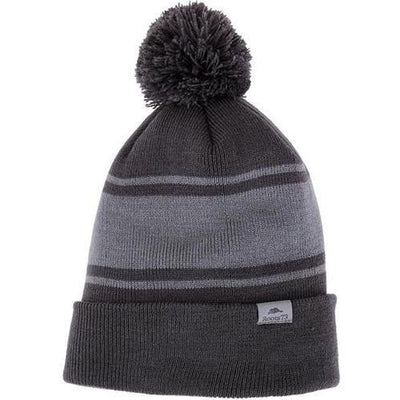 Roots73 Parktrail Knit Toque-Charcoal/Quarry-Thread Logic