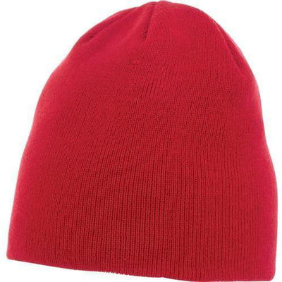 Elevate-LEVEL KNIT BEANIE-Team Red-Thread Logic