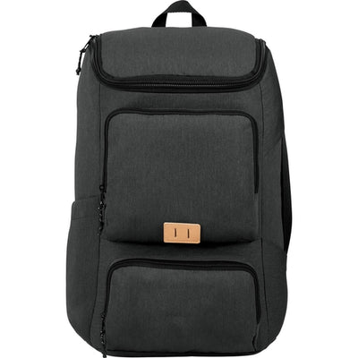 "Elevate-Trails 15"" Computer Backpack-Charcoal-Thread Logic"