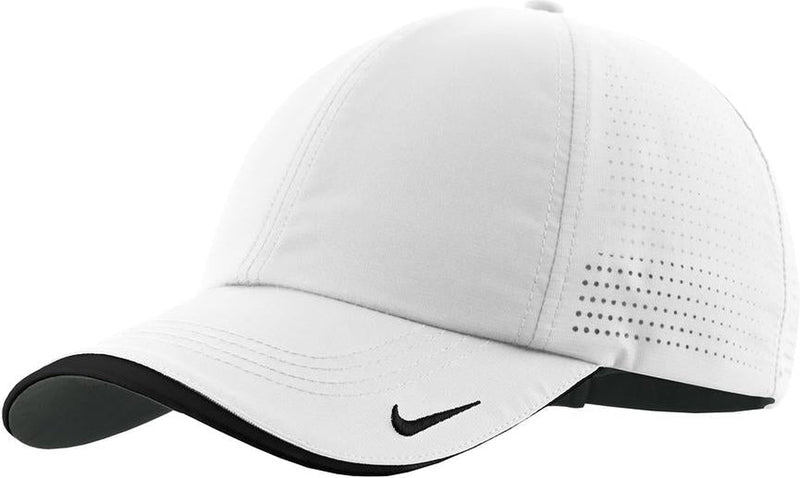 With Logo NIKE Golf Dri-Fit Swoosh Perforated Cap