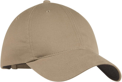 NIKE Golf Unstructured Twill Cap-Khaki-Thread Logic
