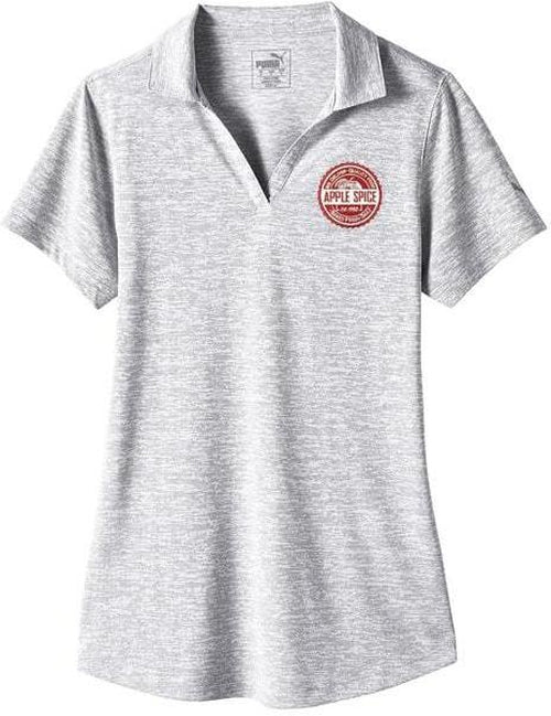 Puma Golf Ladies Icon Heather Polo