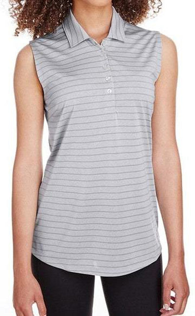 Puma Golf Ladies Rotation Stripe Sleeveless Polo