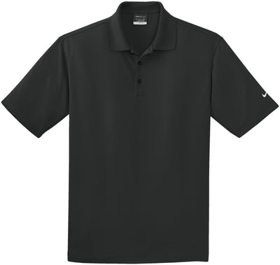 NIKE Golf Tall Dri- Fit Pique Polo-LT-Black-Thread Logic