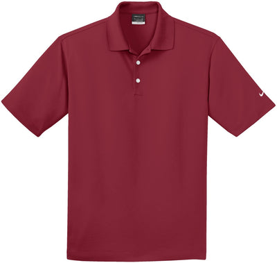 NIKE Golf Tall Dri- Fit Pique Polo-LT-Varsity Red-Thread Logic