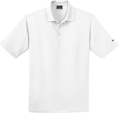 NIKE Golf Tall Dri- Fit Pique Polo-LT-White-Thread Logic