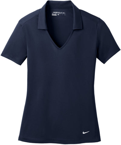 NIKE Golf Ladies Dri-Fit Vertical Mesh Polo-S-Marine-Thread Logic