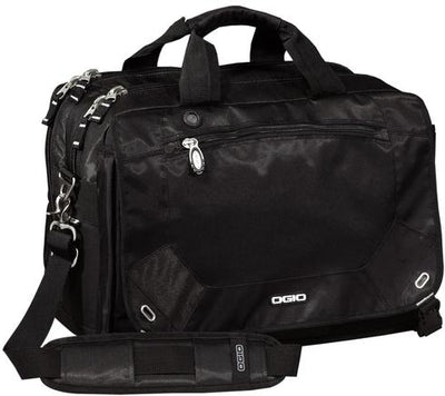 OGIO Corporate Messenger Bag-Black-Thread Logic