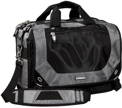 OGIO Corporate Messenger Bag-Petrol-Thread Logic
