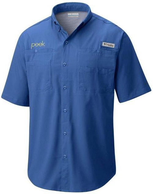 Columbia Tamiami II Short-Sleeve Shirt-Thread Logic no-logo