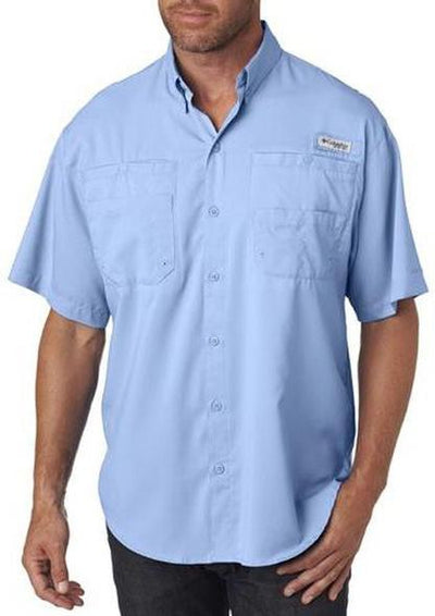 Columbia Tamiami II Short-Sleeve Shirt-S-Sail-Thread Logic logo-right