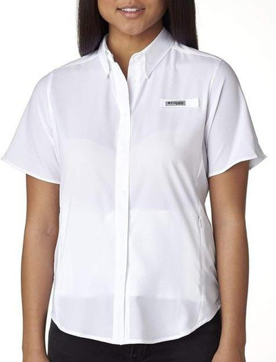 Columbia Ladies Tamiami II Short-Sleeve Shirt-Thread Logic