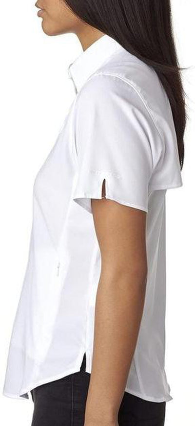 Columbia Ladies Tamiami II Short-Sleeve Shirt-Thread Logic no-logo