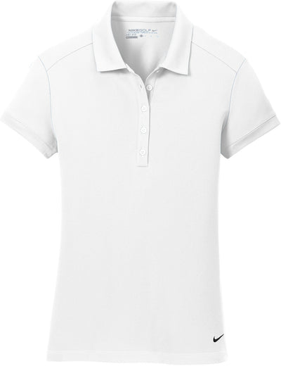 Nike Ladies Dri-FIT Solid Icon Pique Modern Fit Polo-Ladies Polos-Thread Logic