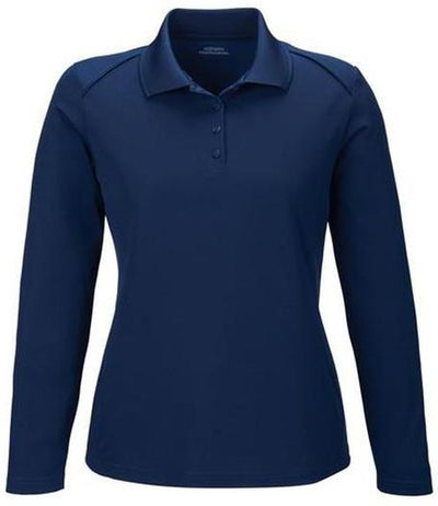 Extreme-Ladies Snag Protection Long-Sleeve Polo-XS-Classic Navy-Thread Logic
