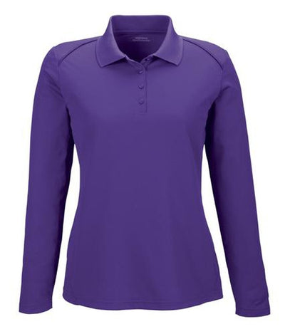 Extreme-Ladies Snag Protection Long-Sleeve Polo-XS-Campus Purple-Thread Logic