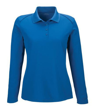 Extreme-Ladies Snag Protection Long-Sleeve Polo-XS-True Royal-Thread Logic