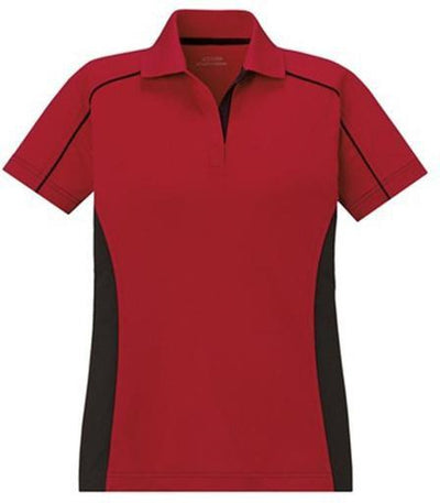 Extreme-Ladies Snag Protection Color Block-XS-Classic Red/Black-Thread Logic