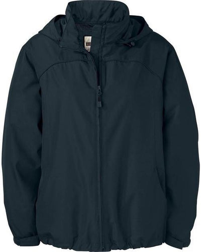 North End-Ladies Techno Lite Jacket-XS-Black-Thread Logic