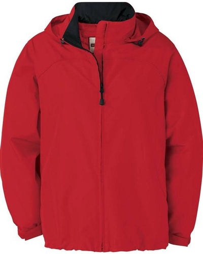 North End-Ladies Techno Lite Jacket-XS-Molten Red-Thread Logic