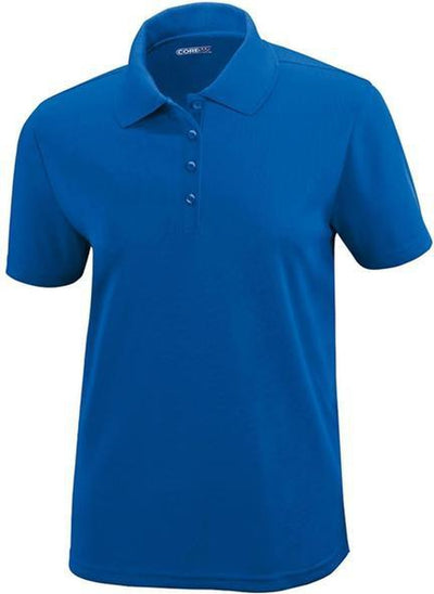 CORE365-Ladies Performance Pique Polo-XS-Royal-Thread Logic