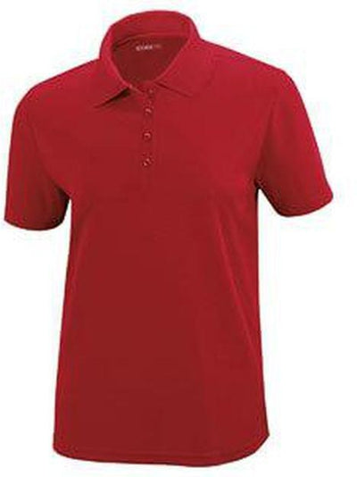 CORE365-Ladies Performance Pique Polo-XS-Red-Thread Logic