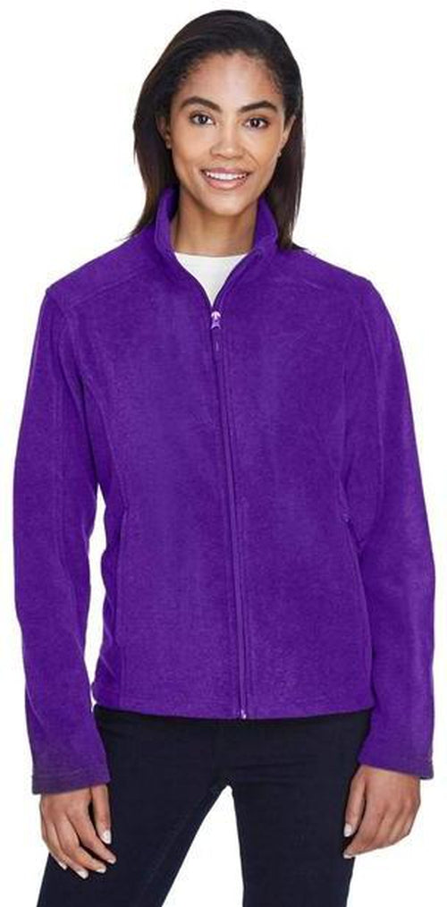 CORE365-Ladies Fleece Jacket-Thread Logic no-logo