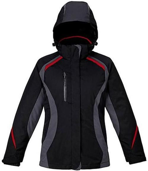 Ladies 3-in-1 Jacket with Insulated Liner