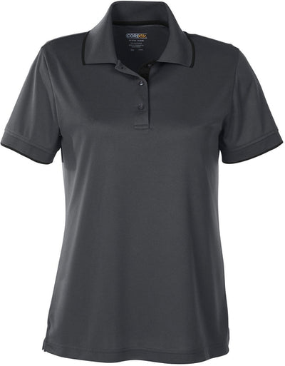 Core 365 Ladies Motive Performance Pique Polo with Tipped Collar