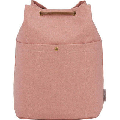 Field&Co-Field & Co. Convertible 16oz. Cotton Canvas Tote-Pink-Thread Logic