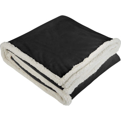 Field&Co-Field & Co. Sherpa Blanket-Black-Thread Logic