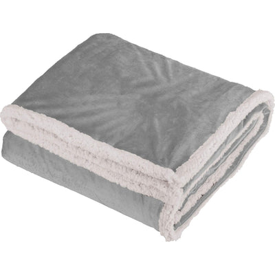 Field&Co-Field & Co. Sherpa Blanket-Grey-Thread Logic