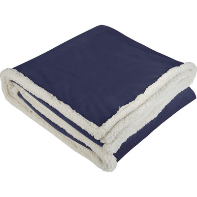 Field&Co-Field & Co. Sherpa Blanket-Navy-Thread Logic