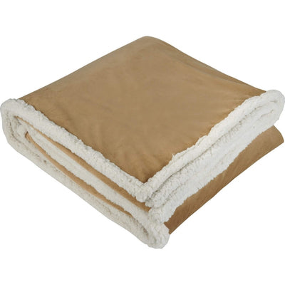 Field&Co-Field & Co. Sherpa Blanket-Tan-Thread Logic