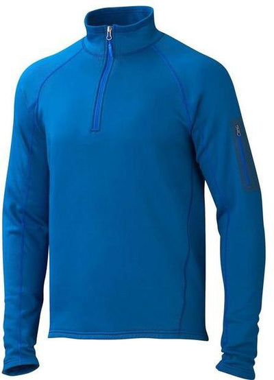 Marmot Stretch Fleece Half-Zip-S-Blue Sapphire-Thread Logic
