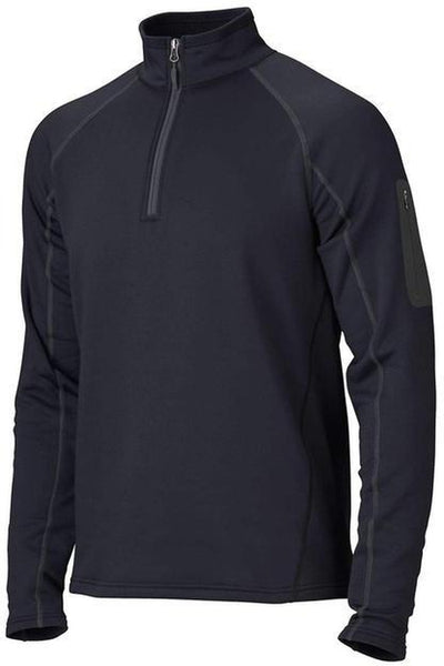 Marmot Stretch Fleece Half-Zip-S-Black-Thread Logic