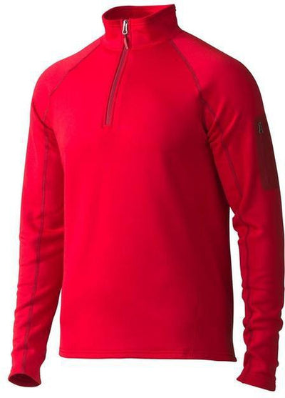 Marmot Stretch Fleece Half-Zip-S-Team Red-Thread Logic