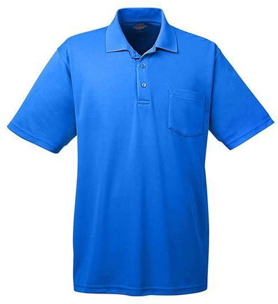 UltraClub-Cool & Dry Mesh Pique Polo with Pocket-S-Royal-Thread Logic
